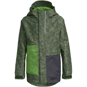 VAUDE Faunus 2L Jacket Kids cedar wood